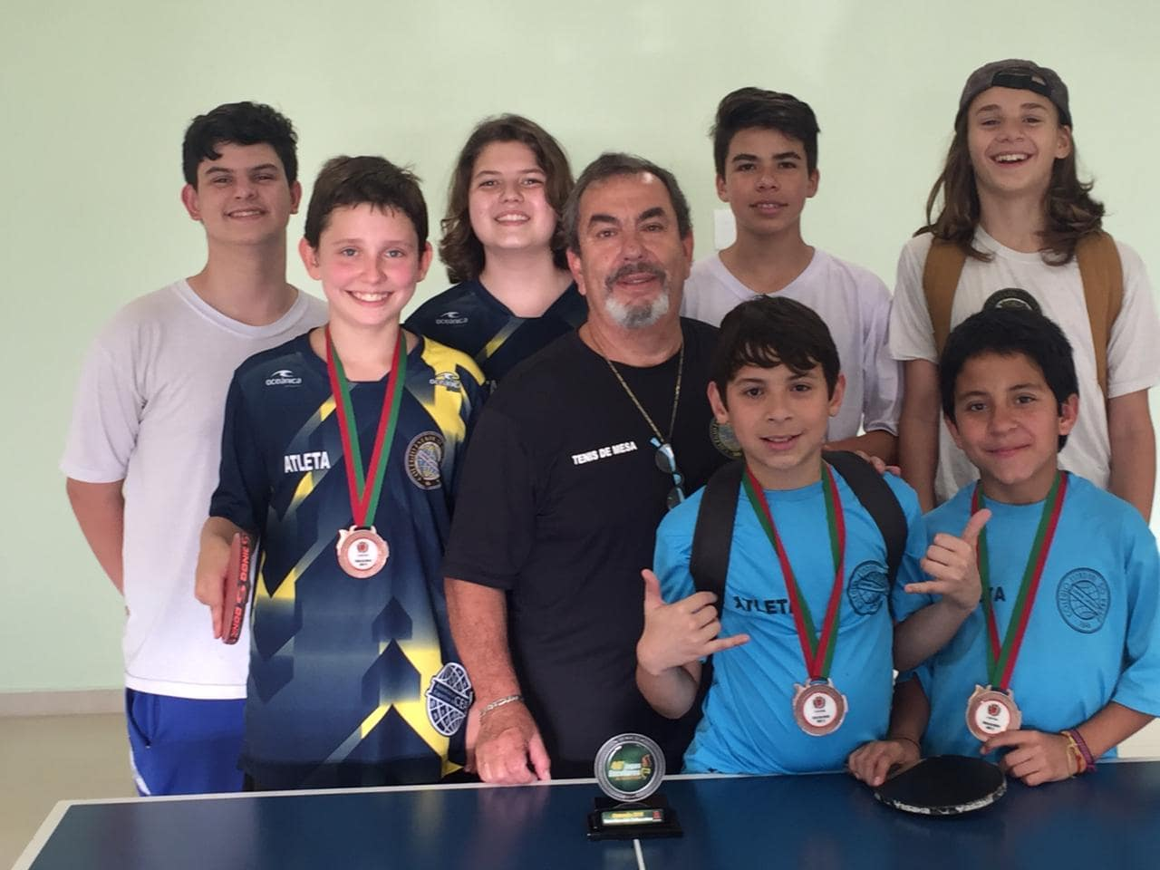 Tenis Mesa Sub 15 Campeão -min